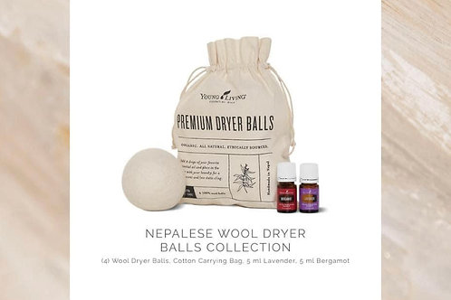 Nepalese Wool Dryer Balls Laundry Collection