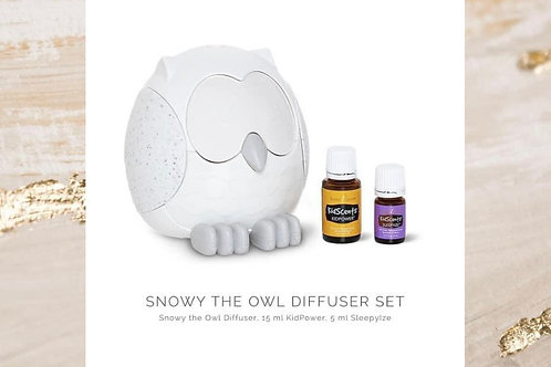 Limited Edition: Snowy the Owl Diffuser Set