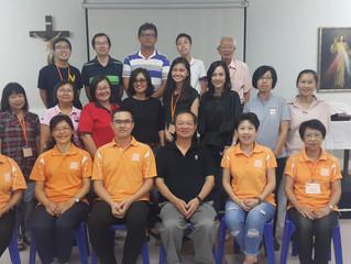 马来西亚槟城教区怡保圣米高堂《玛窦福音》结业