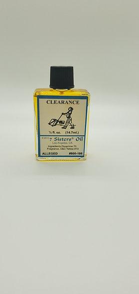 Clearance Oil 1/2 Fl oz