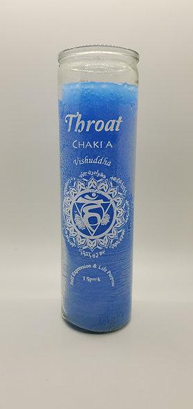 Throat Chakra 7 Day Candle