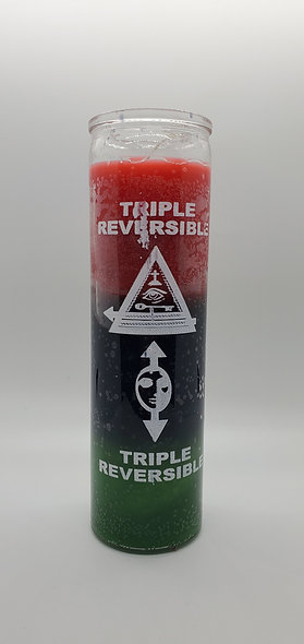 Triple Reversible 7 Day Candle