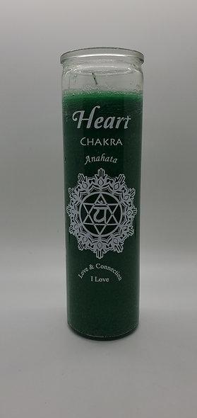 Heart Chakre 7 Day Candle