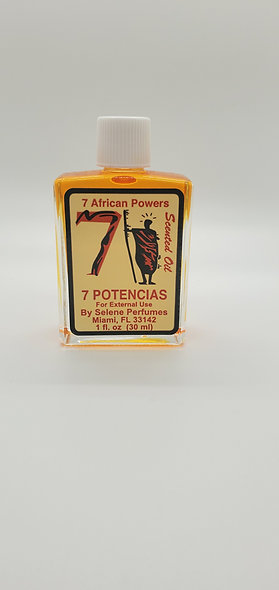 7 African Powers Oil 1 Fl oz