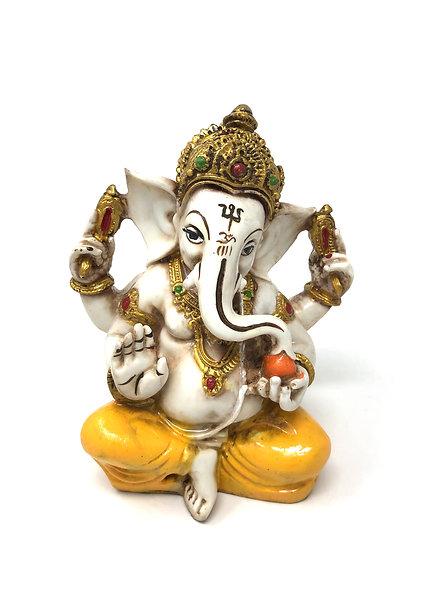 Resin God Figure, Raja Ganesha Statue