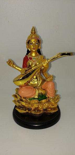 Small Lakshmi  Gold Statue