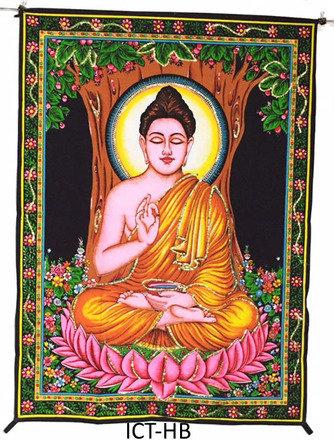Tapestry Buddha