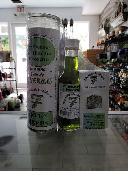 7 Herbs Set