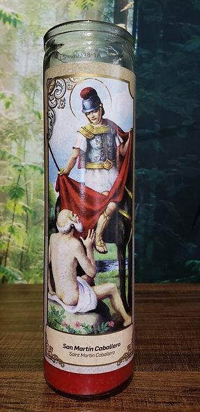 San Martin Caballero Candle