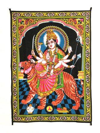 Tapestry  Maa Durga