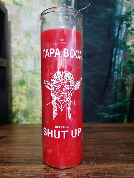 Shut Up Candle