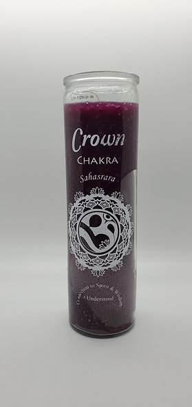 Crown Chakra 7 Day Candle