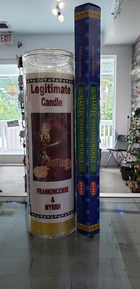 Frankincense & Myrrh Set