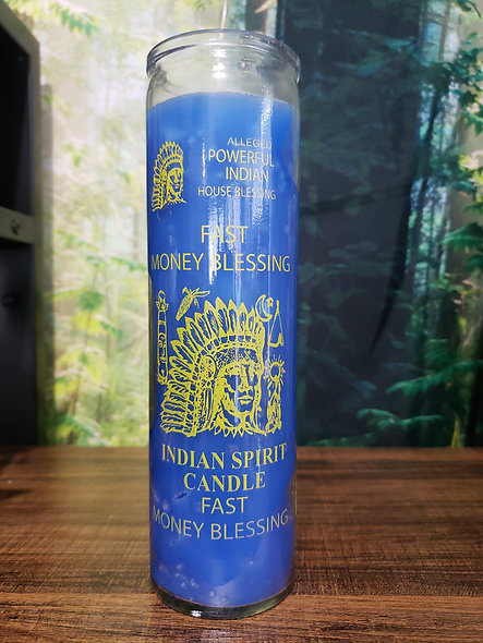 Fast Money Blessings  Candle