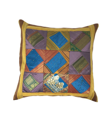 Indian Cushion Cover 16 x 16 inch