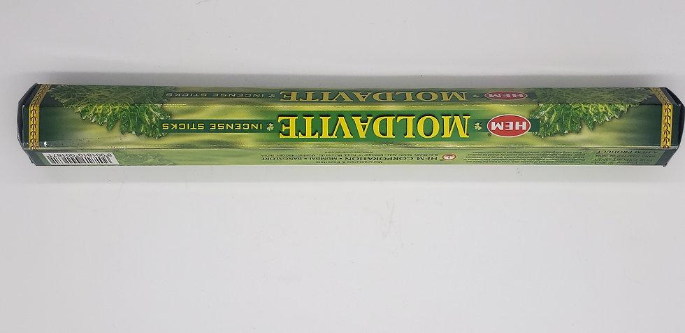 Moldavite Incense Stick