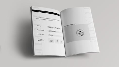 Booklet Warranty