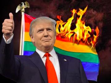 Donal Trump violenta los derechos de los transexuales