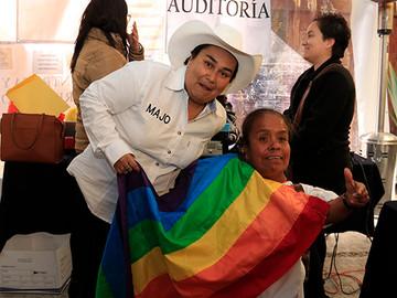 Activista LGBT como precandidata del PRD en Puebla