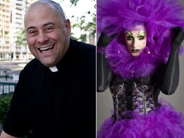 Sacerdote de día y drag queen de noche