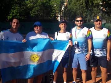 Argentina sede del primer torneo Gay de tenis