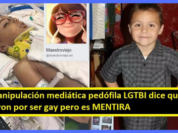 """""""La comunidad gay utiliza a Anthony Ávalos para sus actos pedófilos"""" Afirma blog de conser"""
