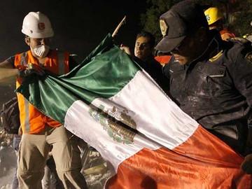 Va en aumento el número de víctimas por el sismo de México