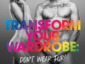 Modelos transexuales se desnudan a favor de los derechos de los animales