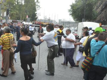 Protección Civil no esta capacitada para orientar a discapacitados en caso de sismo