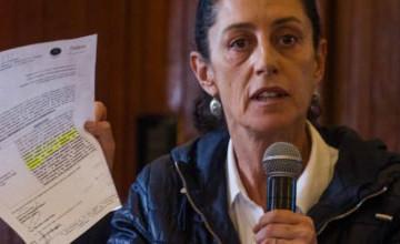 Claudia Sheinbaum denuncia irregularidades en la construcción del Colegio Rébsamen