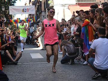 Carrera de Tacones en World Pride Madrid 2017