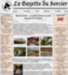 gazette du sorcier maquette poudlard