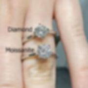 diamond moissanite round 1 carat moissybox canada ontaro online shopping