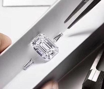 custom rings emerald cut moissanite moissy box themoissybox canadian jewellery