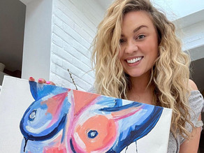 Interview with nudes and abstract artist, Dolly Daydream Art!