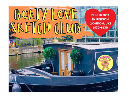 Event Review - The 'Boaty' Love Sketch Club!