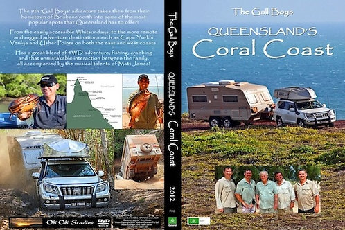"""QUEENSLAND'S CORAL COAST ADVENTURE"" DVD - 2012"