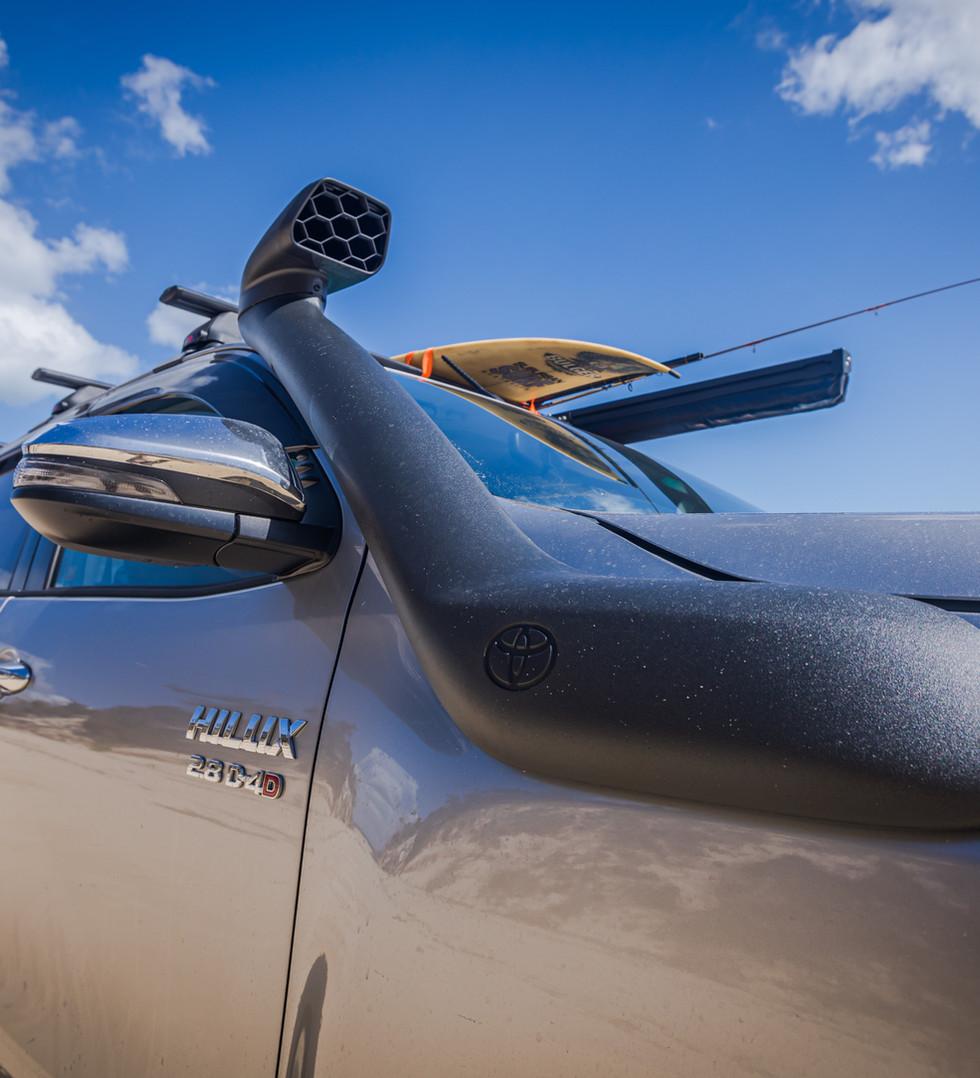 Toyota Genuine snorkel