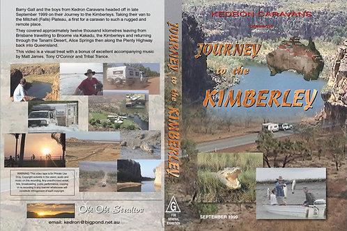 """JOURNEY THE KIMBERLEY"" DVD -1999"