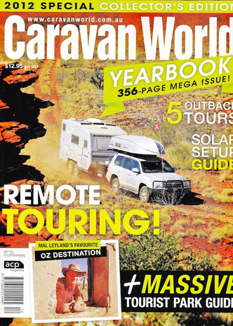 CARAVAN WORLD 2012 YEARBOOK Gall Boys KEDRON Caravans