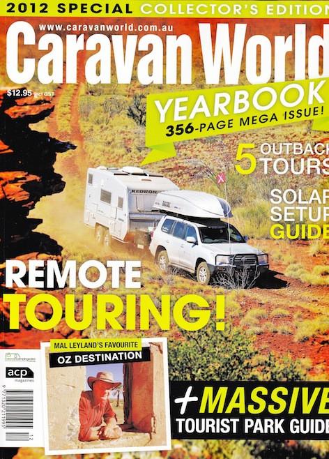 CARAVAN WORLD 2012 YEARBOOK - KEDRON Caravans - The Gall Boys ©️