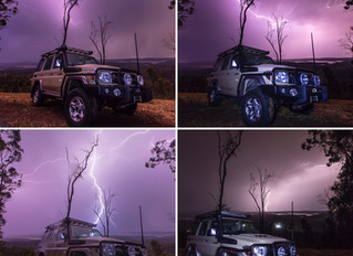 Start of the storm season- LC76 Lightning Shots