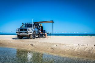 2020 Genuine Accessorised Hilux - Side Awning - Moreton Island, QLD - Glen Gall©️