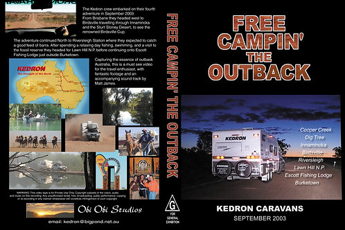 """""""FREE CAMPIN' THE OUTBACK"""" DVD - 2003"""