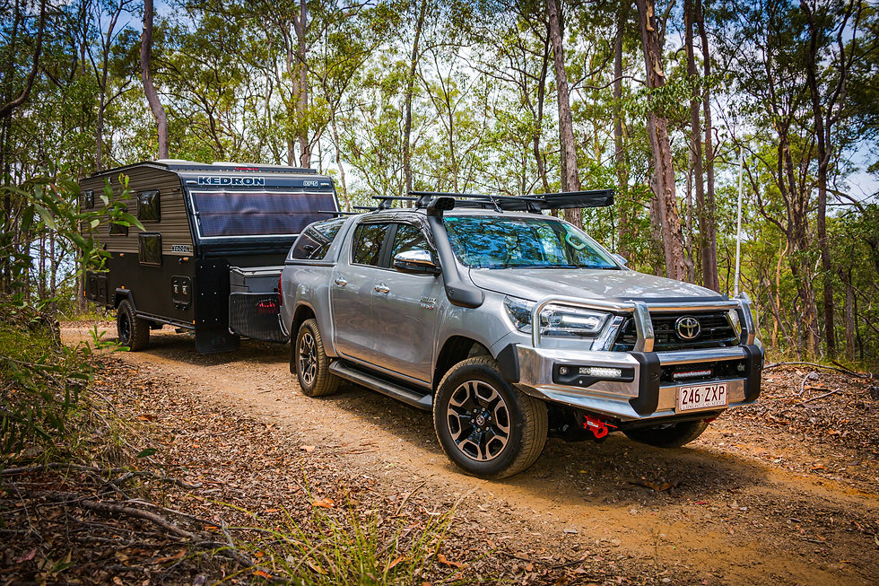 Hilux towing KEDRON CP5 COMPACT - SCRUBP