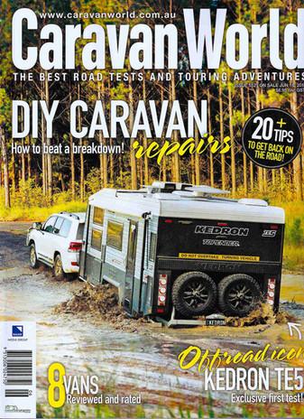 Caravan World July 2016 - KEDRON Caravans