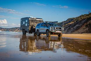 2020 Genuine Accessorised Hilux - towing KEDRON XC5 'SCRUBPAK'® - Rainbow Beach, QLD - Glen Gall©️
