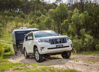 New Release 2018 Prado - First tow test