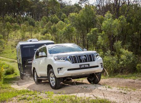 New Release 2018 Prado - First tow test
