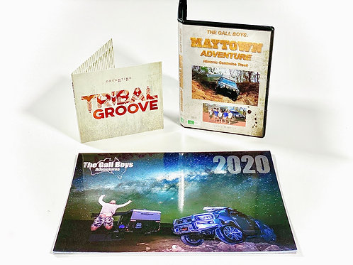 "'THE MAYTOWN ADVENTURE"" TWIN DISC DVD - FREE SOUNDTRACK CD!!"